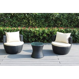 Ohana 3 Piece Conversation Set with Cushions