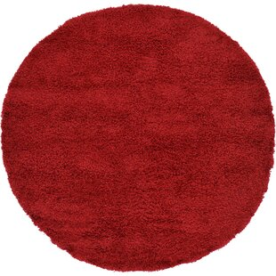 Angeline Cherry Red Indoor Area Rug by Turn on the Brights
