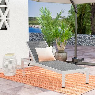 Coline Outdoor Patio Chaise Lounge