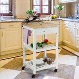 Aldford Kitchen Cart by Ebern Designs