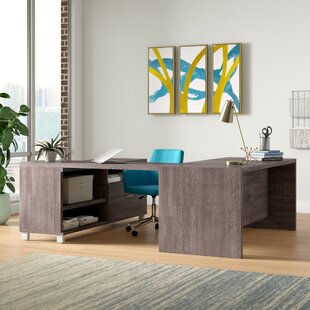 Heyworth 3-Piece Reversible U-Shape Desk Office Suite