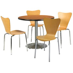 5 Piece Dining Set by KFI Seating Discount