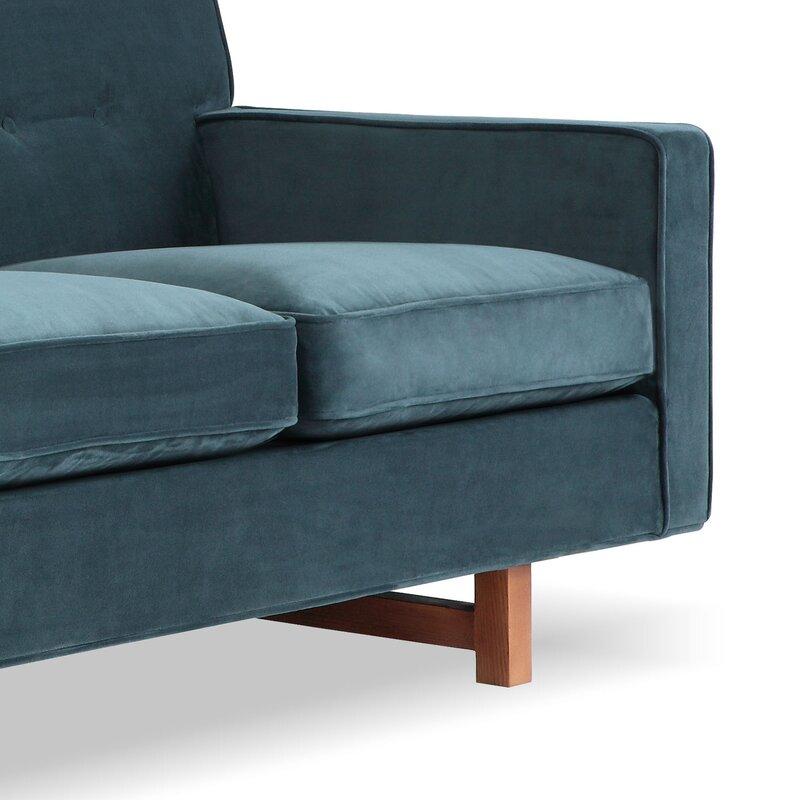 Lomonaco Mid Century Modern Classic Sofa & Reviews   Joss & Main