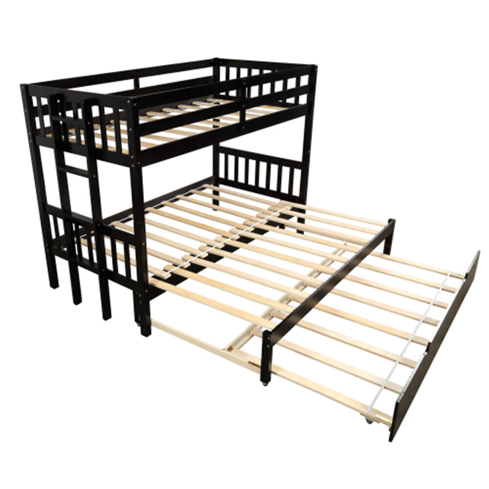 Isabelle Max Pensford Pull Out Bunk Twin Bed With Trundle Wayfair