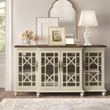 Lucille Media 72'' Wide Credenza by Kelly Clarkson Home