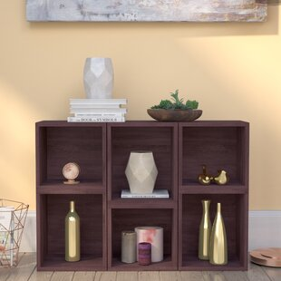 Dehart Geometric Bookcase by Ebern Designs Herry Up
