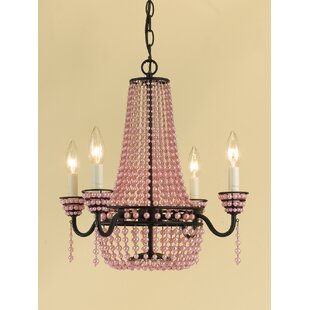 AF Lighting Parlor 4-Light Empire Chandelier
