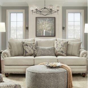 Southern Home Furnishings Carys Doe Loveseat