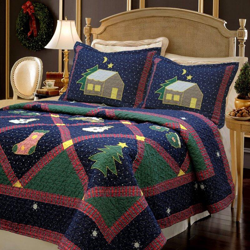 Christmas Night Quilt Set