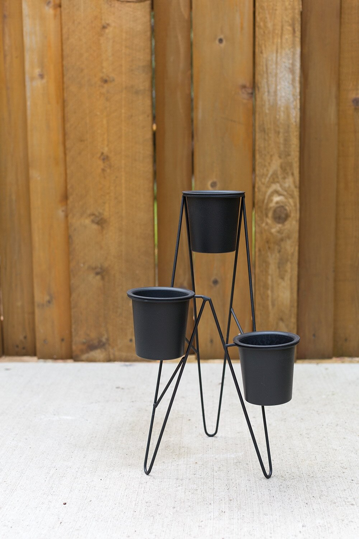 17 Stories Womble Metal Pot Planter Wayfair