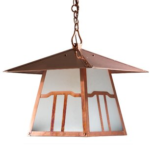 Kody Cloud 1-Light Outdoor Hanging Lantern