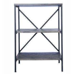 Gasper 3 Shelf Etagere Bookcase
