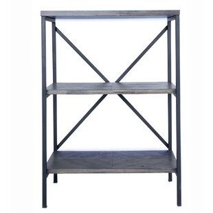 Totowa 3 Shelf Etagere Bookcase by Gracie Oaks