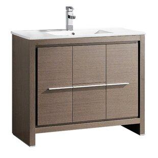 Allier 39 Single Bathroom Vanity Set by Fresca