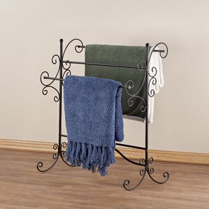 Blanket Storage Quilt Rack by Miles Kimball