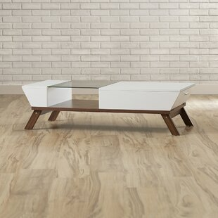 Soto Coffee Table With Tray Top