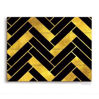 Click Wall Art Obsidian Sandstone Stallion Graphic Art Print On Wood Wayfair