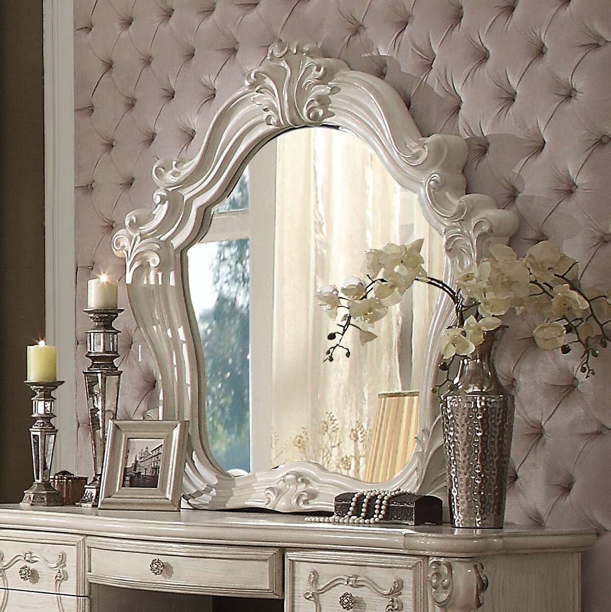 Astoria Grand Welton Arched Dresser Mirror Reviews Wayfair