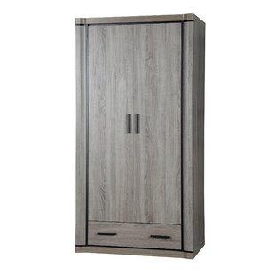 Fong 2 Door Wardrobe By Mercury Row