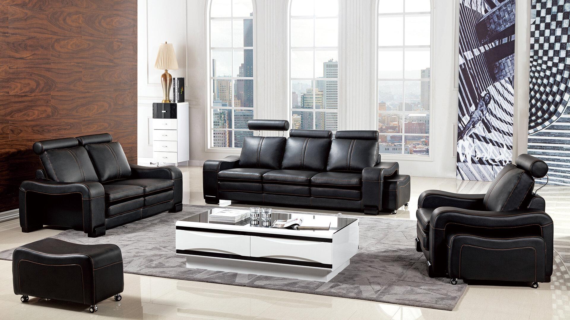 Vierra 6 Piece Living Room Set
