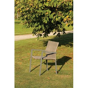 Keomi Stacking Garden Chair With Cushion (Set Of 4) By Sol 72 Outdoor