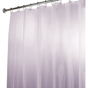 EVA Waterproof Vinyl Shower Curtain By InterDesign