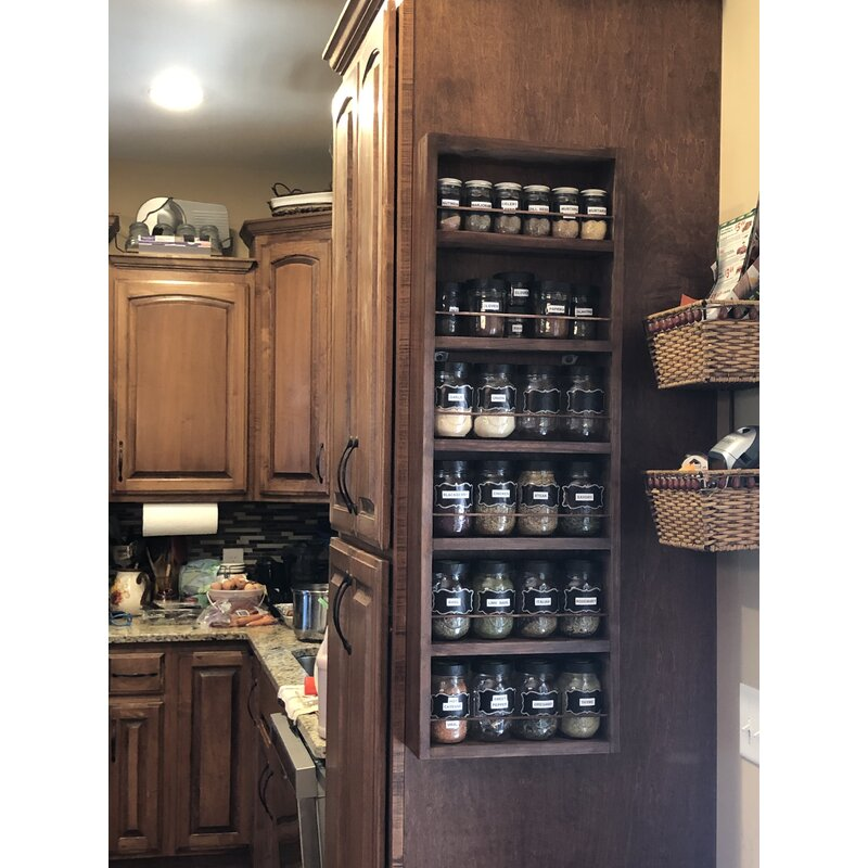 Latitude Run Mitchell 50 Jar Spice Rack Wayfair