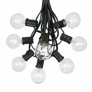 The Party Aisle G40 Patio 25 ft. 25-Light Globe String Lights