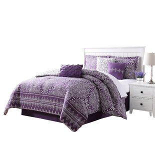 Creason 7 Piece Reversible Comforter Set by Bungalow Rose