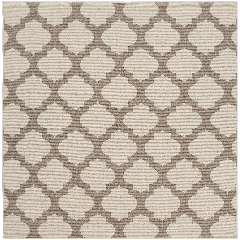 Birch Lane Heritage Alfresco Geometric Cream Camel Indoor Outdoor Area Rug Reviews Wayfair