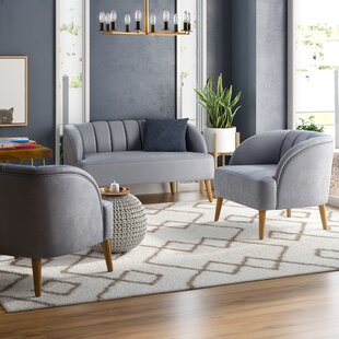 Great choice Javion 3 Piece Living Room Set by Mistana Reviews (2019) & Buyer's Guide