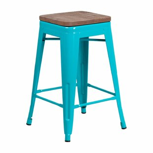Cathie Backless 24 Bar Stool Williston Forge