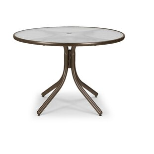 Obscure Acrylic 42 Round Dining Table by Telescope Casual