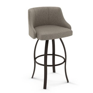 Nicki 30 Swivel Bar Stool Brayden Studio
