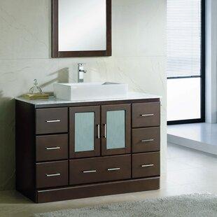 Rethman 48 Single Bathroom Vanity Set by Latitude Run