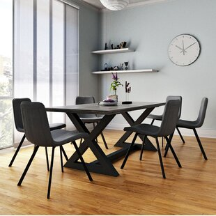 Ridge 7 Piece Dining Set 17 Stories