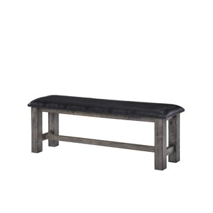 Mistana Katarina Faux Leather Bench
