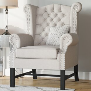 Sabion Wingback Chair ByWilla Arlo Interiors