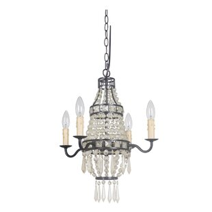 Bauble 4-Light Empire Chandelier by Mariana Home