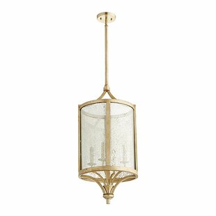 Lucca 4-Light Foyer Pendant by Quorum