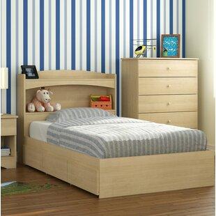 Harriet Bee Amaker Twin Platform Bed with 3 Drawer