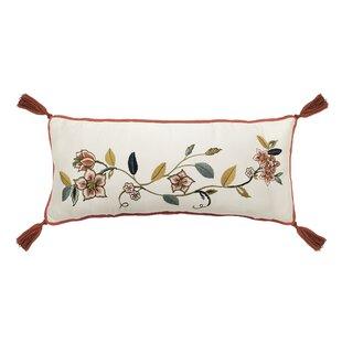 Brighton Blossom Cotton Lumbar Pillow