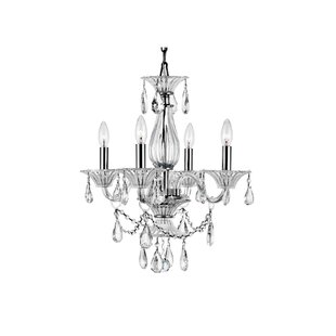 Astoria Grand Zac 4-Light Chandelier