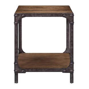 Buy clear Danette End Table by Williston Forge