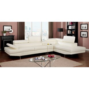Hokku Designs Derrikke Reclining Sectional