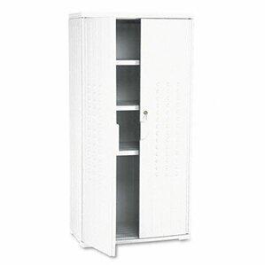 officeworks 2 door storage cabinet