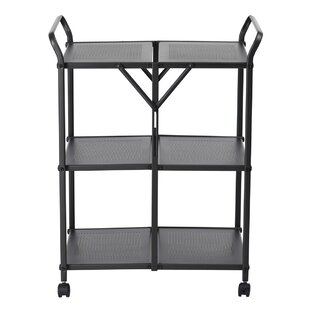 Pontefract Kitchen Trolley With Stainless Steel Top By 17 Stories