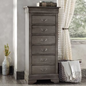 Corbeil 6 Drawer Lingerie Chest by Lark Manor