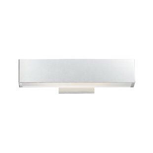 Best Reviews Briley Rectangular 1-Light LED Bath Bar By Latitude Run