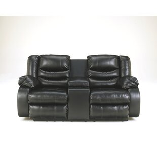 Sia Reclining Loveseat with Console